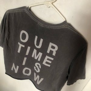 Project Social T Our Time Is Now Tee